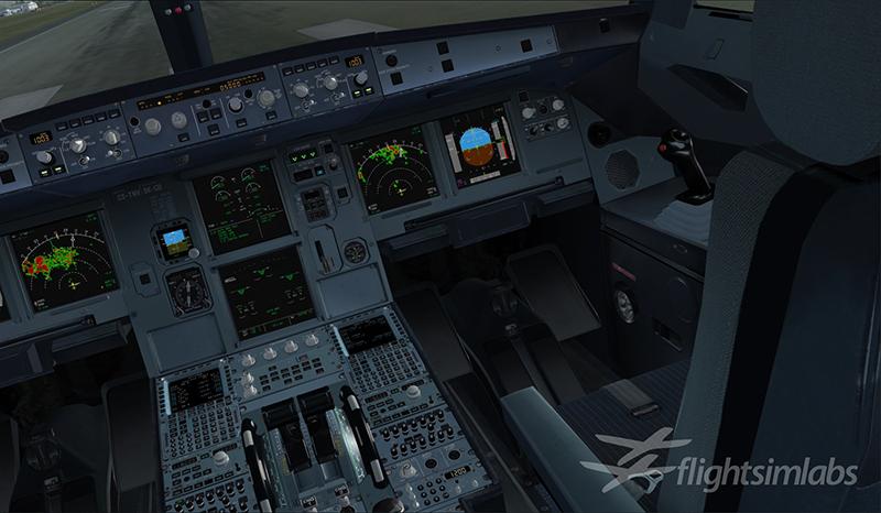 A320 X Flight Sim Labs Ltd